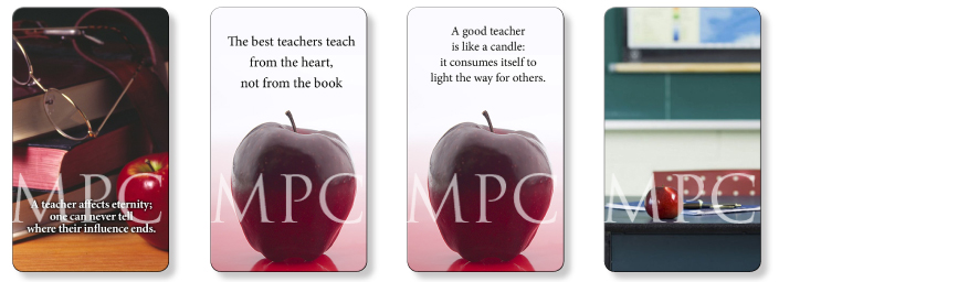 teacher and education prayer cards