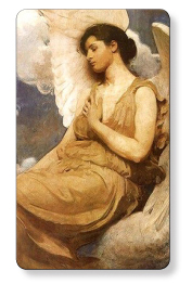 Images of Angels for prayer cards for wakes, funerals. Memorial prayer cards, memorial thank you notes, memorial bookmarks, memorial pet cards and funeral programs.