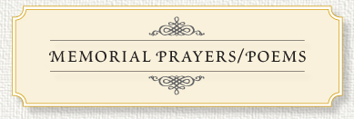 Prayer Cards Funeral Quotes